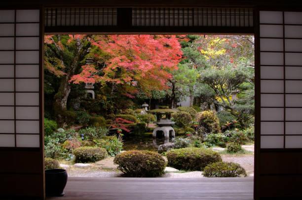horike - japanischer garten stock-fotos und bilder