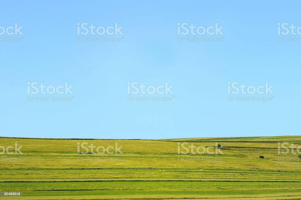 Horizont über land Lizenzfreies stock-foto