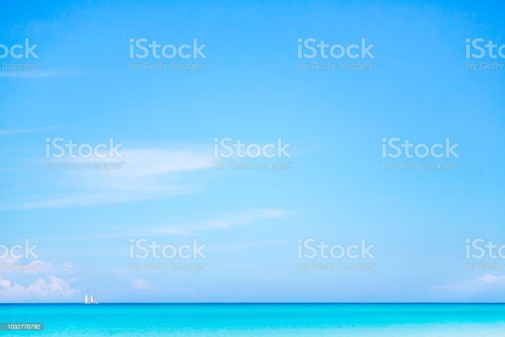 Horizon over Water in Varadero