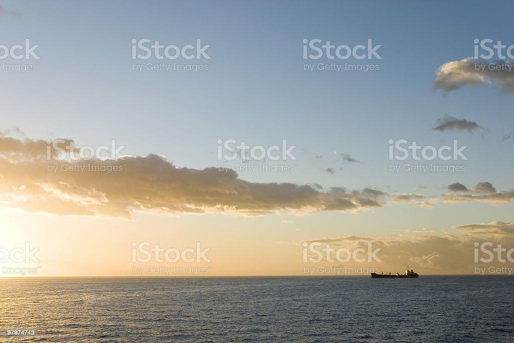 Horizon royalty-free stock photo
