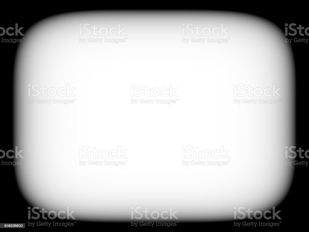Horizontal blank empty black and white retro tv screen abstracti stock photo