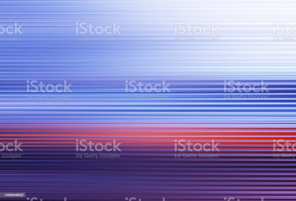 Horizontal blue red purple motion blur background stock photo