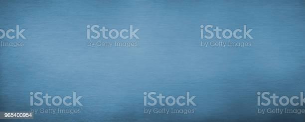 Foto de Horizontal Textura De Metal Escovado Azul e mais fotos de stock de Abstrato