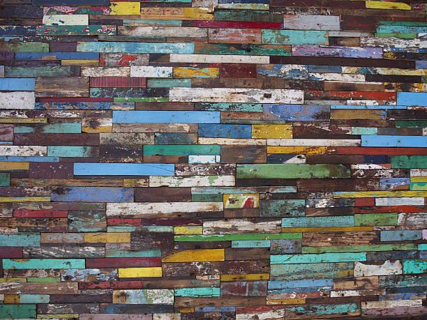 horizontale farbigen wand - jeff wood stock-fotos und bilder