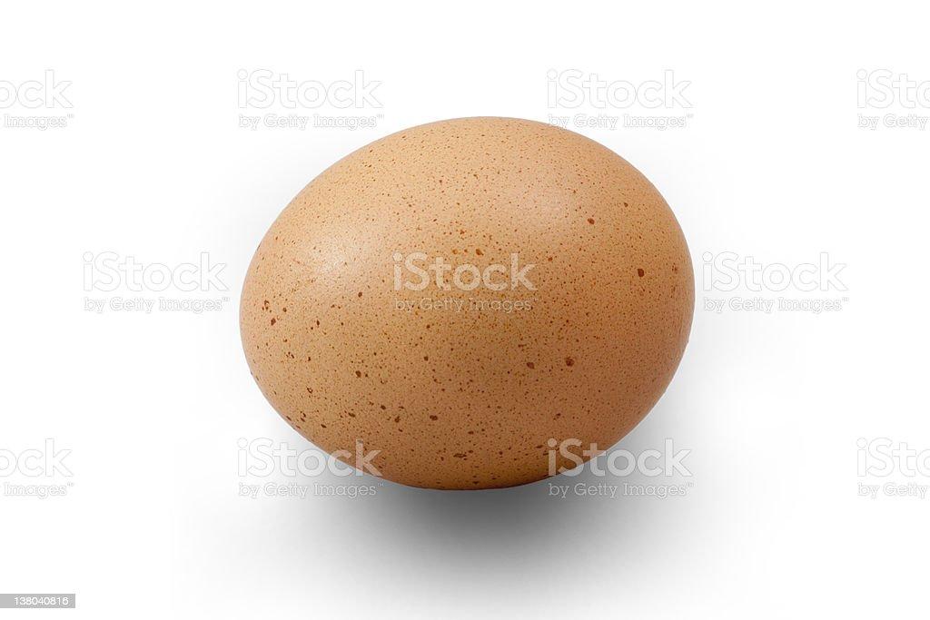 Horizontal Egg royalty-free stock photo