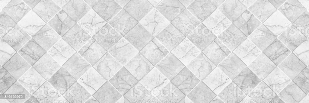 Horizontal Elegant White Ceramic Tile Texture For Pattern