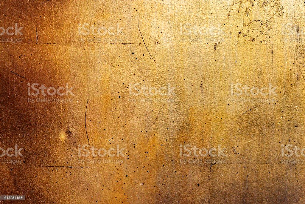 Horizontal golden wall, texture of black gold ストックフォト