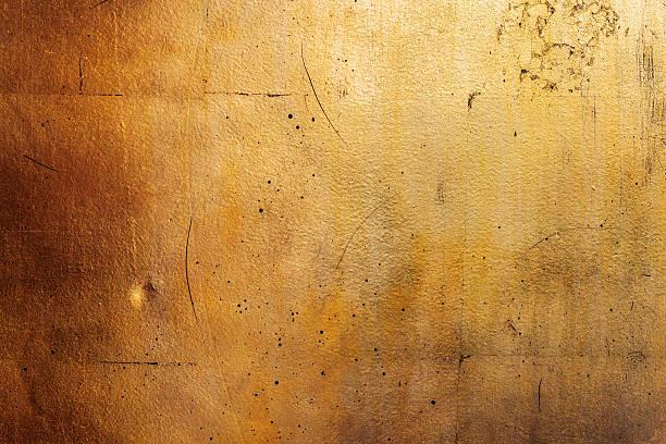 Horizontal golden wall, texture of black gold stock photo