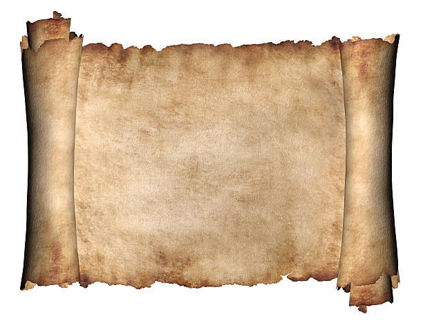 Horizontal Manuscript stock photo