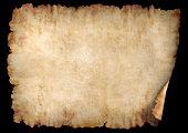 istock Horizontal parchment paper texture background 105616239