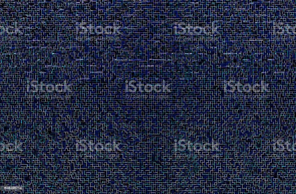 Horizontal purple space maze illustration background stock photo
