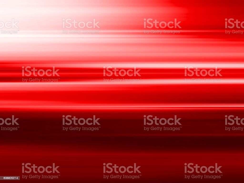 Horizontal red motion blur abstcrat background stock photo