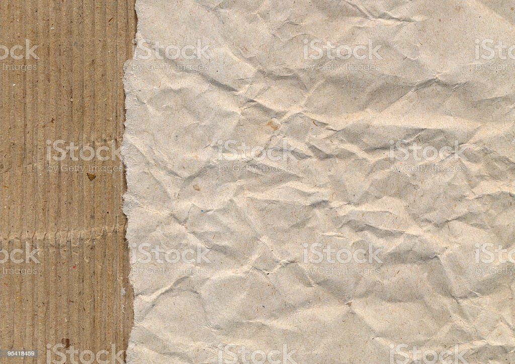 Horizontal ripped paper royalty-free stock photo