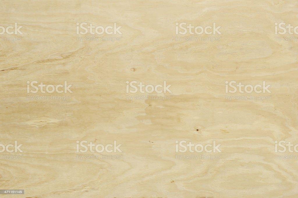 Horizontal Sheet of Natural Colored Plywood royalty-free stock photo