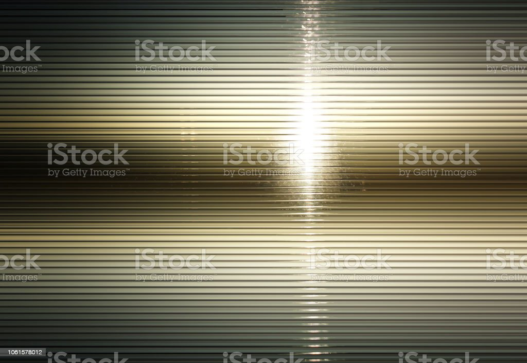Horizontal texture lines with dramatic light leak background stock photo