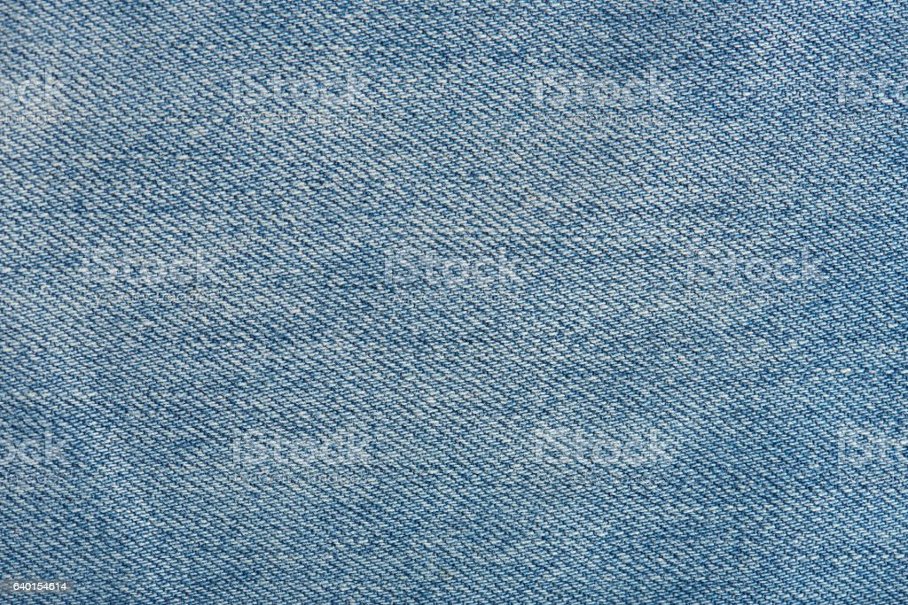 Horizontal texture of blue jeans stock photo