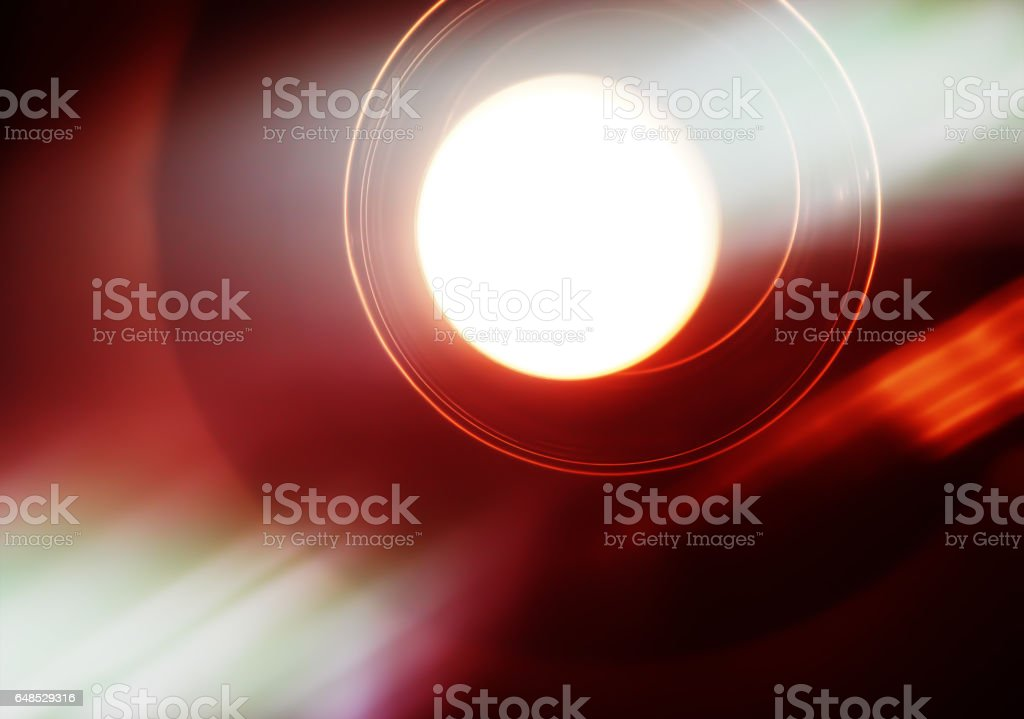 Horizontal vivid cafe lamp light leak abstraction background bac stock photo