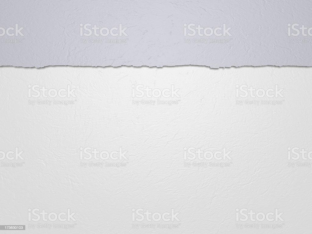 Horizontal white paper royalty-free stock photo