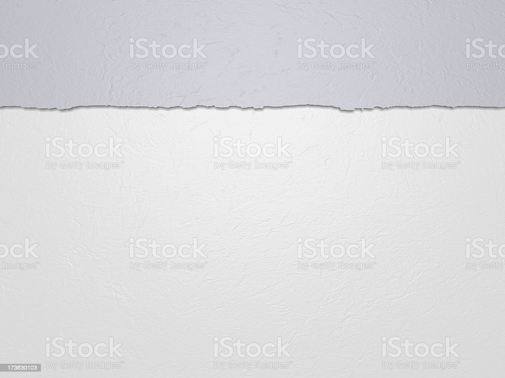 Horizontal white paper stock photo
