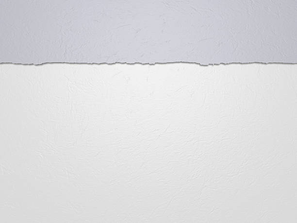Horizontal white paper stock photo