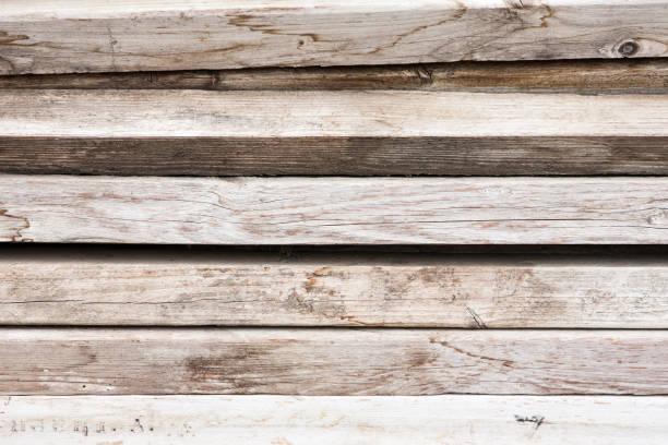 Horizontal Wood Planks stock photo