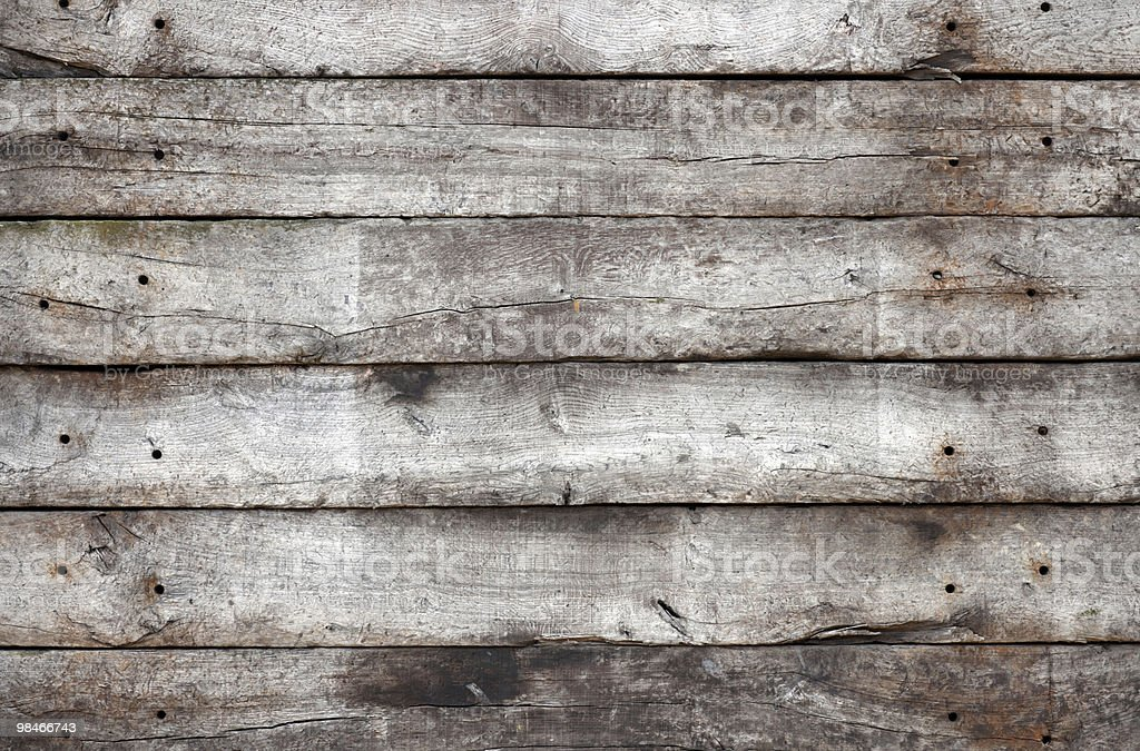 Horizontal Wooden Planks royalty-free stock photo