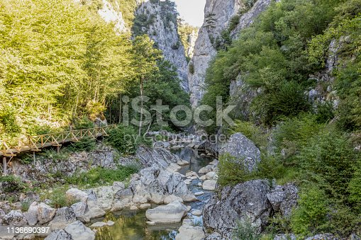 Horma Canyon (Kure Mountains National Park), Kastamonu, Turkey.