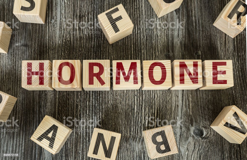 Hormone stock photo