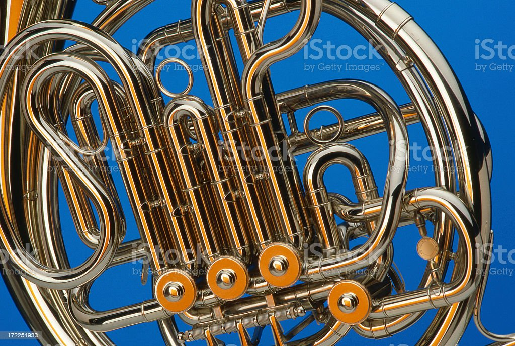 Horn Instrument royalty-free stock photo