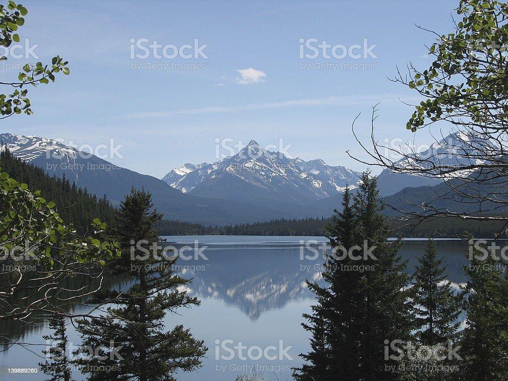horn lake stock photo