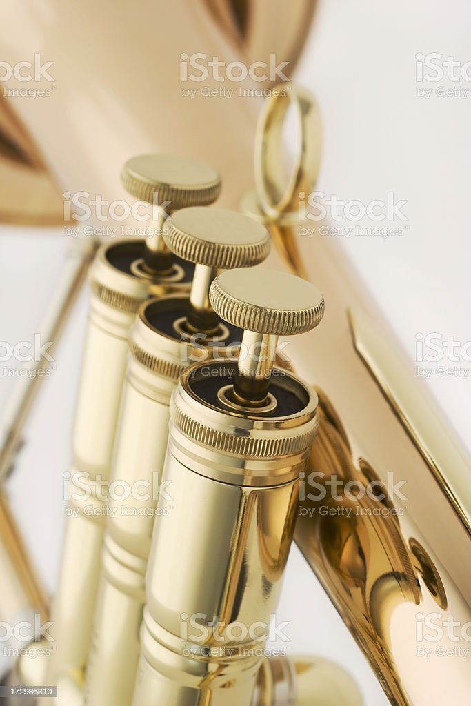 Horn Valves royalty-free stock photo