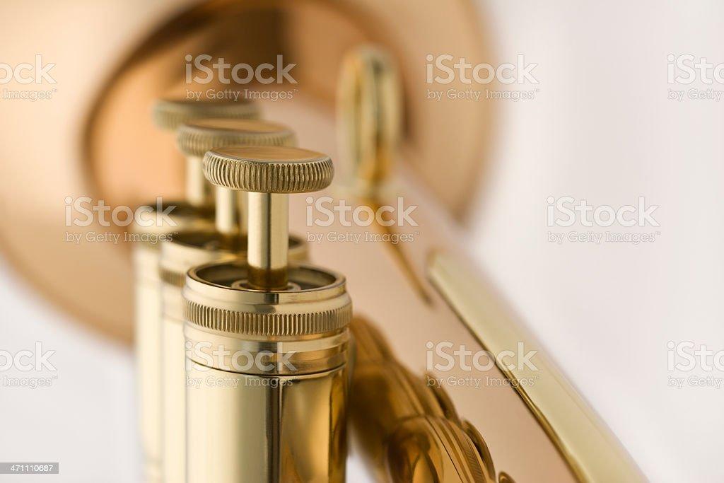 Horn Valves royalty-free stock photo
