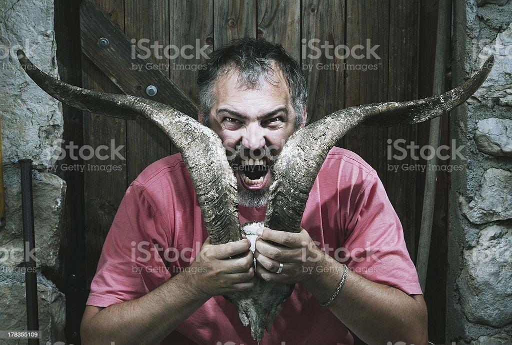 Horn Vampire royalty-free stock photo