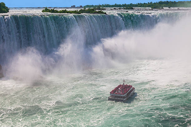 Hornblower Niagara Falls Cruise stock photo