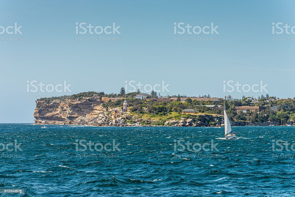 Hornby Lighthouse - Australia stock photo