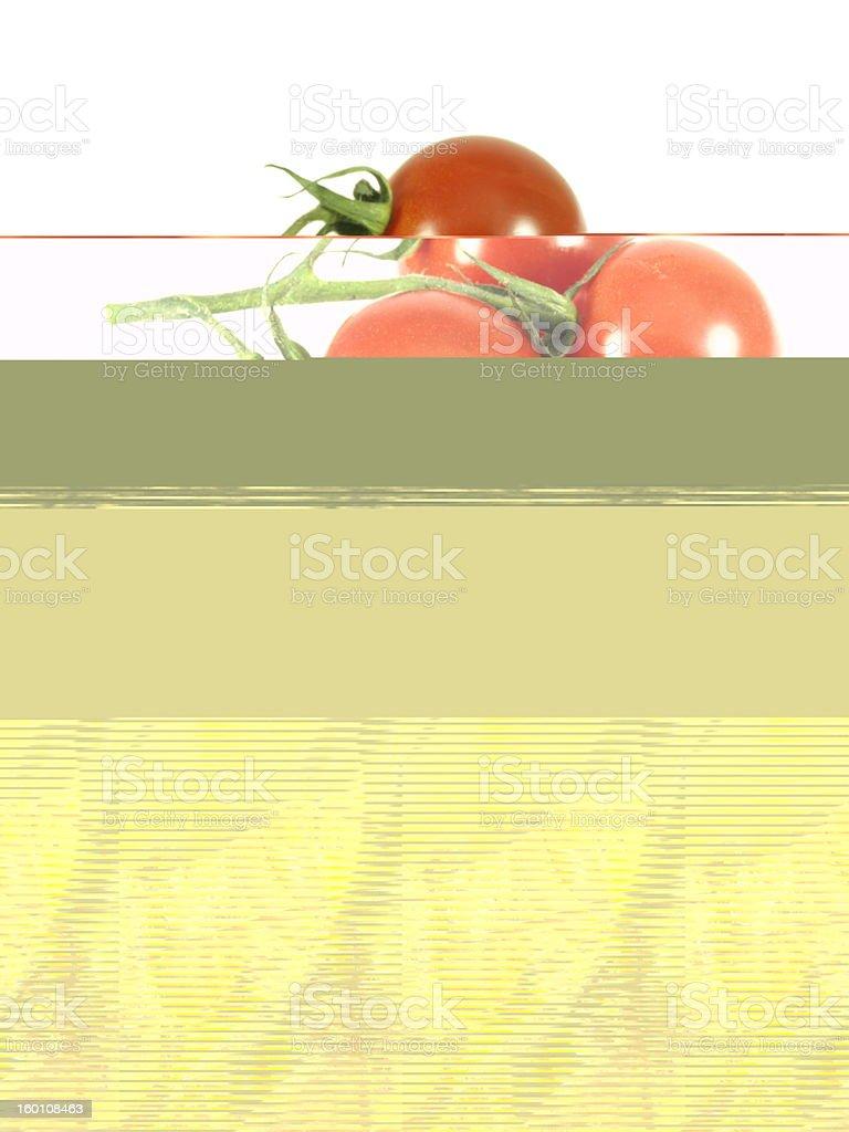 Hornet eating an apple. stock photo
