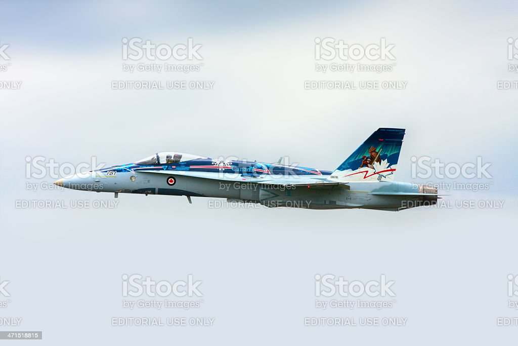 hornet jet fighter royalty-free stock photo