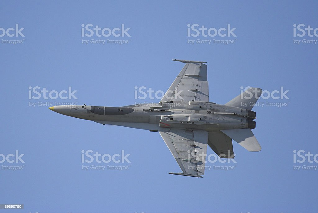F-18 Hornet royalty-free stock photo