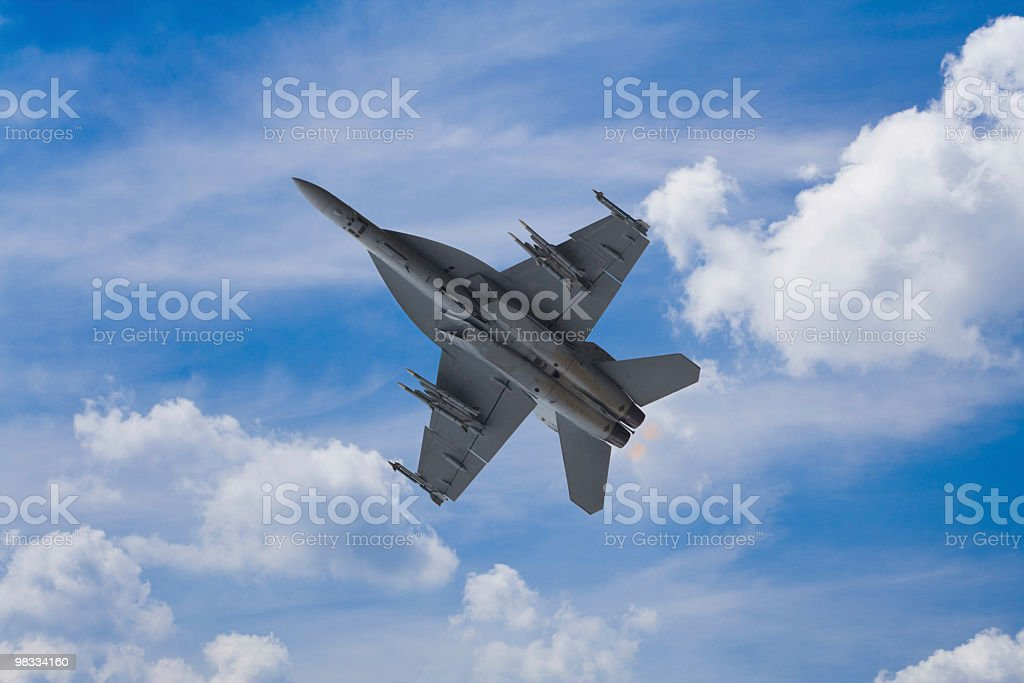 F/A-18 Hornet royalty-free stock photo