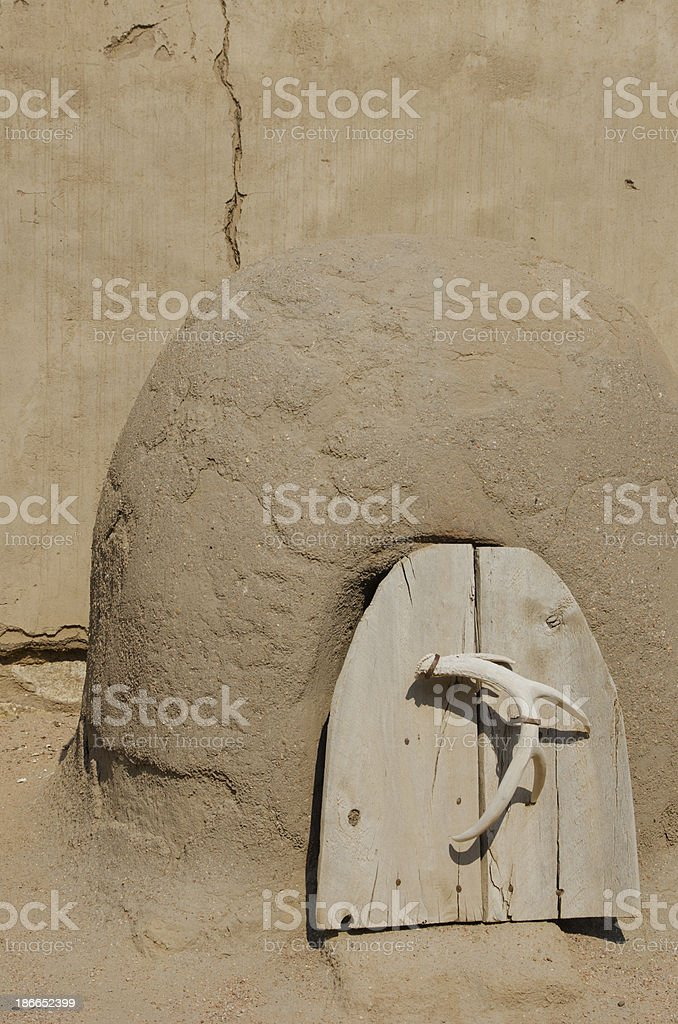 Horno at Bent's Old Fort National Historic Site stock photo