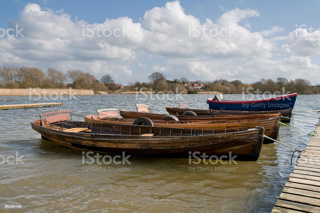 Hornsea Mere royalty-free stock photo