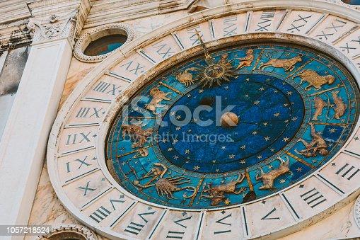 istock Horoscope clock 1057218524