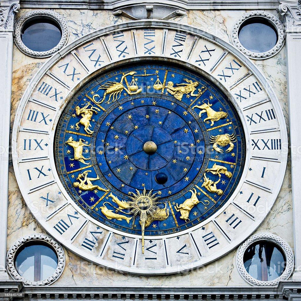 Horoscope in Venice stock photo
