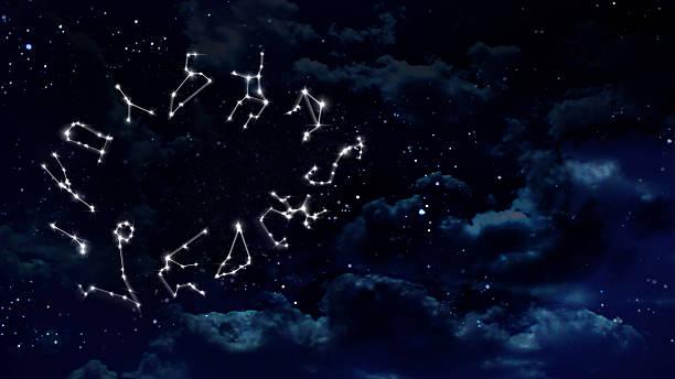 Horoscopes Nacht Weiß – Foto