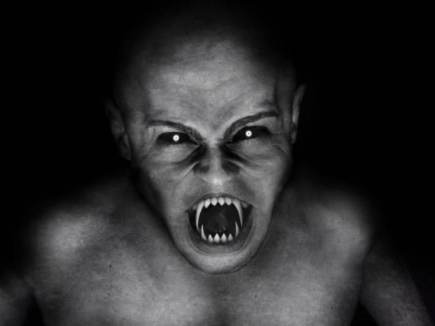 horror devil vampire stock photo