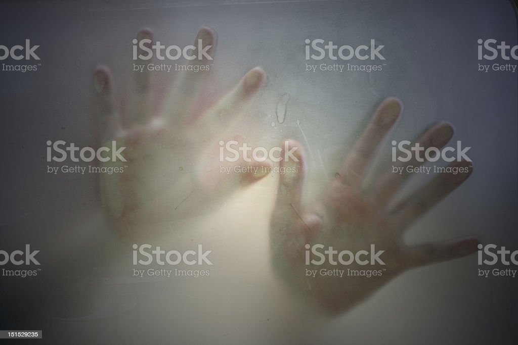Horror royalty-free stock photo