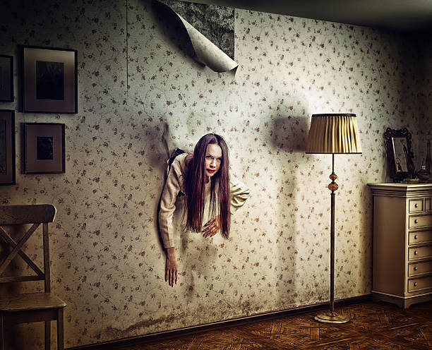 horror - trap house stock pictures, royalty-free photos & images