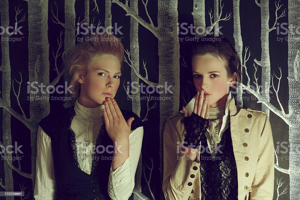 Horror story royalty-free stock photo