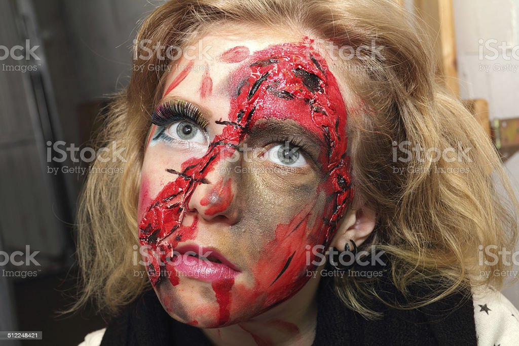 horror zombie stock photo