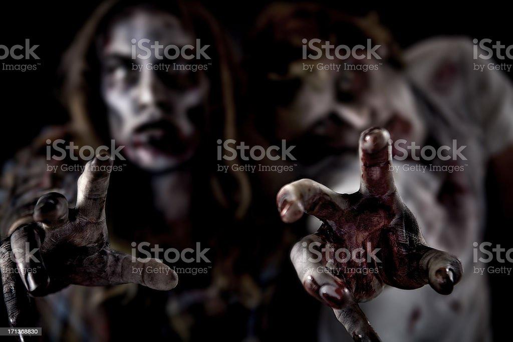 Horror Zombie Series stock photo